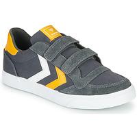 Schuhe Kinder Sneaker Low Hummel STADIL LOW JR Grau