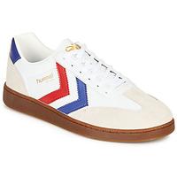 Schuhe Herren Sneaker Low Hummel VM78 CPH LEATHER Weiss / Rot / Blau