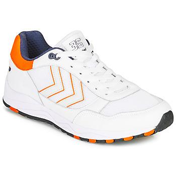 Schuhe Herren Sneaker Low Hummel 3-S SPORT Weiss / Orange