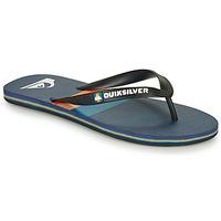 Schuhe Herren Zehensandalen Quiksilver MOLOKAI SEASONS Schwarz / Blau / Orange