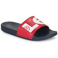 Schuhe Herren Pantoletten Levi's JUNE L Blau / Rot