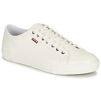 Schuhe Herren Sneaker Low Levi's WOODWARD Weiss
