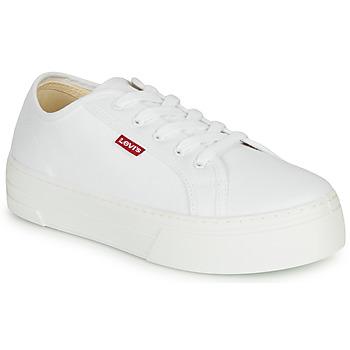 Schuhe Damen Sneaker Low Levi's TIJUANA Weiss