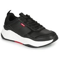 Schuhe Damen Sneaker Low Levi's WEST Schwarz