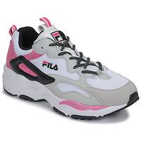 Schuhe Damen Sneaker Low Fila RAY TRACER CB WMN Weiss / Rose