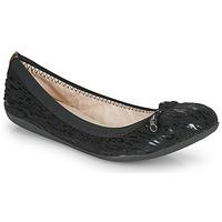 Schuhe Damen Ballerinas Les Petites Bombes AVA Schwarz