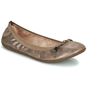 Schuhe Damen Ballerinas Les Petites Bombes AVA Bronze