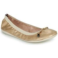 Schuhe Damen Ballerinas Les Petites Bombes AVA Gold
