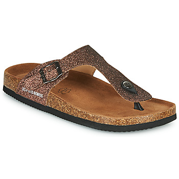 Schuhe Damen Zehensandalen Les Petites Bombes TANIA Bronze