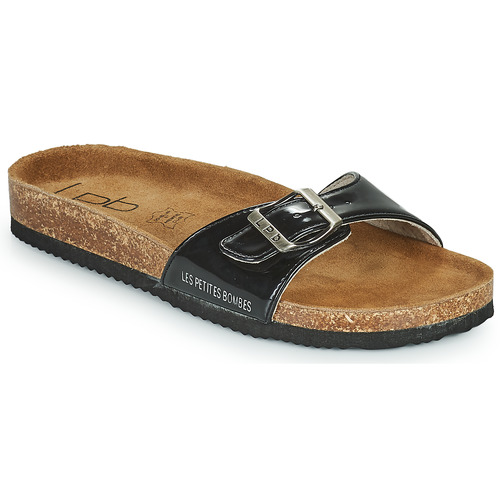 Schuhe Damen Pantoffel Les Petites Bombes ROSA Schwarz
