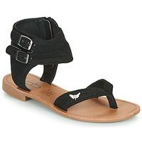Schuhe Damen Sandalen / Sandaletten Les Petites Bombes VALENTINE Schwarz