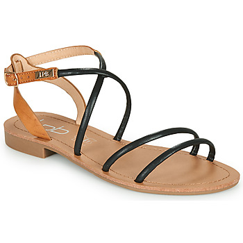 Schuhe Damen Sandalen / Sandaletten Les Petites Bombes EDEN Schwarz