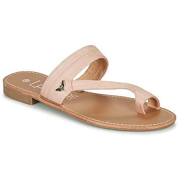 Schuhe Damen Zehensandalen Les Petites Bombes EVA Rose