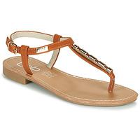 Schuhe Damen Sandalen / Sandaletten Les Petites Bombes MANEL Camel