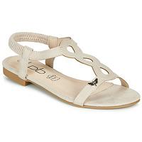 Schuhe Damen Sandalen / Sandaletten Les Petites Bombes FLORA Beige