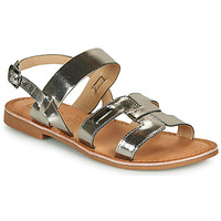 Schuhe Damen Sandalen / Sandaletten Les Petites Bombes BRANDY Silbern