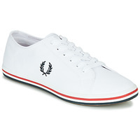Schuhe Herren Sneaker Low Fred Perry KINGSTON TWILL Weiss
