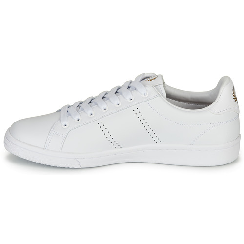 B721 LEATHER  Fred Perry  sneaker low  herren  weiss