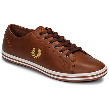Schuhe Herren Sneaker Low Fred Perry KINGSTON LEATHER Braun