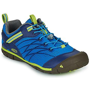 Schuhe Jungen Sportliche Sandalen Keen CHANDLER CNX Blau / Grün
