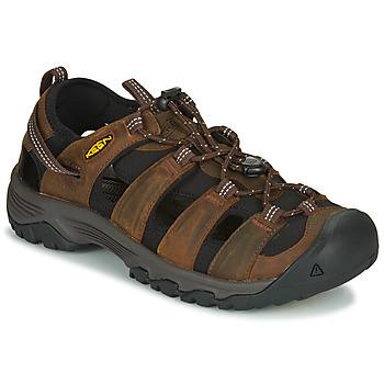 Schuhe Herren Sportliche Sandalen Keen TARGHEE III SANDAL Braun