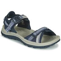 Schuhe Damen Wanderschuhe Keen TERRADORA II OPEN TOE SANDAL Blau