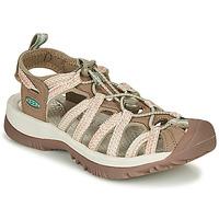 Schuhe Damen Sportliche Sandalen Keen WHISPER Beige