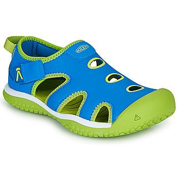 Schuhe Kinder Sportliche Sandalen Keen STINGRAY Blau / Grün