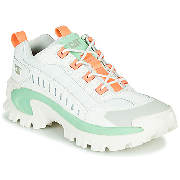 Schuhe Herren Sneaker Low Caterpillar INTRUDER Weiss / Grün