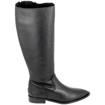 Schuhe Stiefel Porronet Botte Bost Noir Schwarz