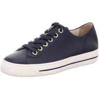 Schuhe Damen Sneaker Low Paul Green 4704-086 blau
