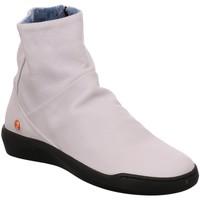 Schuhe Damen Low Boots Softinos Stiefeletten P900550001 weiß