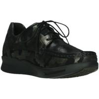 Schuhe Damen Derby-Schuhe Wolky Schnuerschuhe 0590114 730 Camouflage schwarz