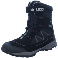 Schuhe Jungen Schneestiefel Brütting Winterstiefel NV 720311 schwarz