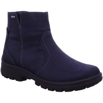Schuhe Damen Low Boots Jenny By Ara Stiefeletten SAAS-FEE 22-69304-62 blau