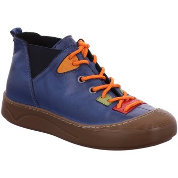 Schuhe Damen Boots Gemini Stiefeletten 31015-02-867 blau