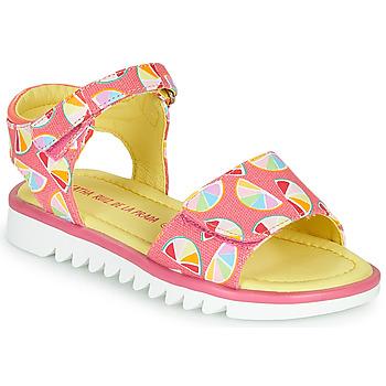 Schuhe Mädchen Sandalen / Sandaletten Agatha Ruiz de la Prada SMILES Rose / Multifarben
