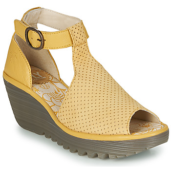 Schuhe Damen Sandalen / Sandaletten Fly London YALLS Gelb