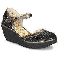 Schuhe Damen Pumps Fly London YVEN Schwarz / Bronze