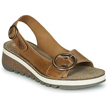 Schuhe Damen Sandalen / Sandaletten Fly London TRAM2 FLY Camel