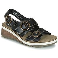 Schuhe Damen Sandalen / Sandaletten Fly London TEAR2 FLY Schwarz