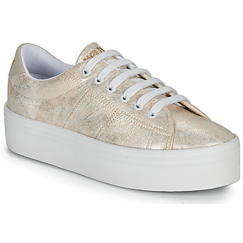 Schuhe Damen Sneaker Low No Name PLATO SNEAKER Gold