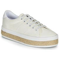Schuhe Damen Sneaker Low No Name MALIBU SNEAKER Weiss