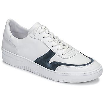 Schuhe Herren Sneaker Low Schmoove EVOC-SNEAKER Weiss / Blau