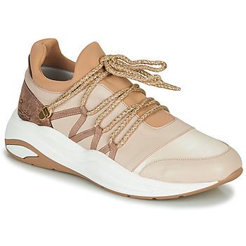 Schuhe Damen Sneaker Low Pataugas FRANCESCA Camel