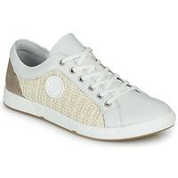 Schuhe Damen Sneaker Low Pataugas JOHANA Naturfarben / Gelb