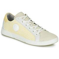 Schuhe Damen Sneaker Low Pataugas JUNE/N Creme / Gelb