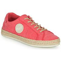 Schuhe Damen Sneaker Low Pataugas PAM/T Fuchsienrot