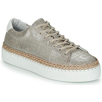 Schuhe Damen Sneaker Low Pataugas SELLA/T Silbern