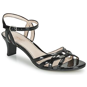 Schuhe Damen Sandalen / Sandaletten Esprit BIRKIN SANDAL Schwarz